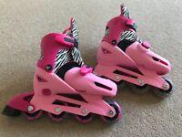 kids adjustable inline skates. Great condition. size 13 - 3