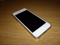 SILVER iPhone 5S 32GB £45