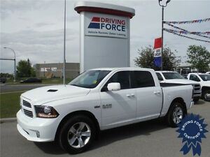 2014 Ram 1500 Sport-Crew-Box-Nav-Sunroof-Backup Cam-Tow Pkg.