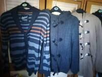 Boys coats 11-12yrs