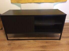 Black IKEA TV stand
