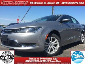 2016 Chrysler 200 Limited | BACKUP CAMERA | DEMO | HEATED SEATS