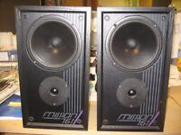 Excellent Mission 761 2-way speakers VGC, superb sound