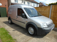 Ford Transit Connect 2007, 57 reg, High roof, T230, LX110, 1.8TDCI, side door, MOT 2018 only £1795