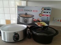 SLOW COOKER, USED TWICE, (Silvercrest - Lidl).