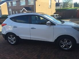 Hyundai Ix35 1.7 CRDI premium. Immaculate condition Only 46000 Miles