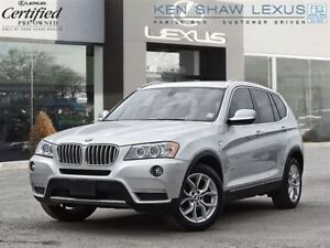 2014 BMW X3 ** Navigation ** Panoramic Roof **