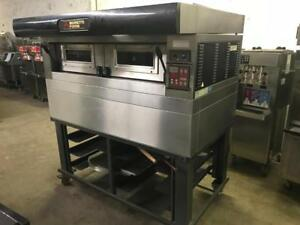 Moretti forni electric pizza oven 3ph for only $3799 ! Only 1 available ( like new )