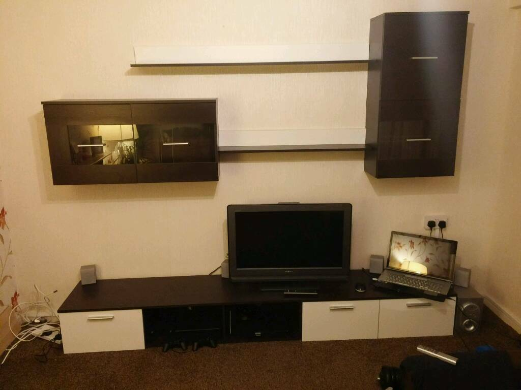 Modern living room cupboards