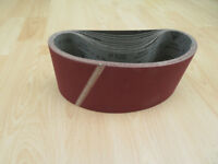 Sanding Belts 610mm x 100mm 100 and 120 grits.