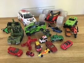 CHILDRENS VEHICLE COLLECTION (19 PIECES)