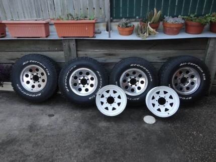 4x4 Baja Alloy Wheels & BFG AT Tyres Ferny Grove Brisbane North West Preview