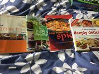 Weight watchers cook books.