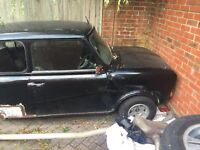 Classic Mini Clubman Project 1275gt Engine