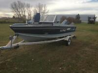 16 1/2 ft Lund Tyee Boat for Sale