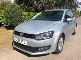 2013 (13 reg) Volkswagen Polo 1.2 Match 5dr FULL SERVICE HISTORY, NICE SPEC