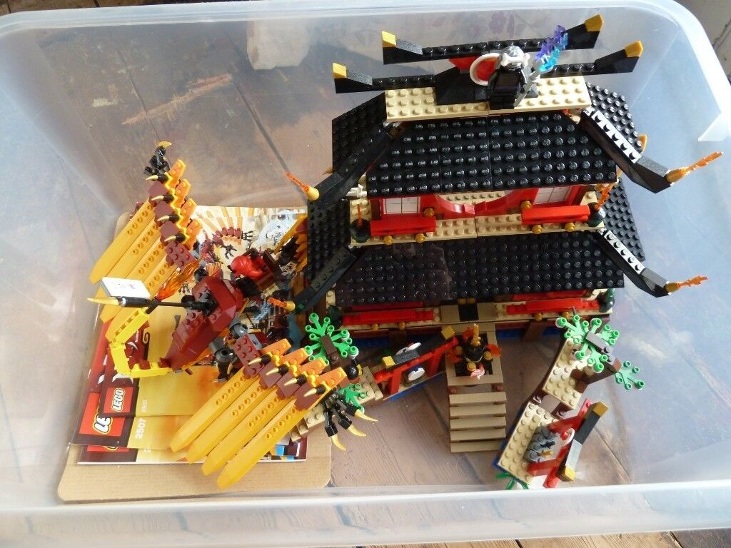 3 large sets of LEGO Ninjago (built but unplayed with) & 4 DVDs | in  Ahoghill, County Antrim | Gumtree