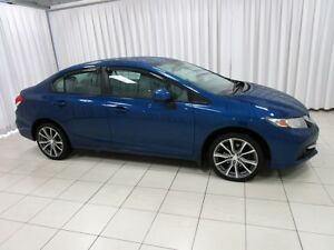 2013 Honda Civic LX SEDAN w/ HEATED SEATS, ALLOY WHEELS, A/C & C