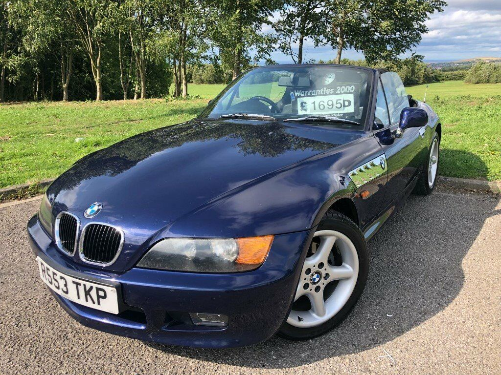 1997 R Bmw Z3 1 9 Convertible March 2019 M O T Full
