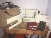 Bernina 801 sewing machine (collection only)