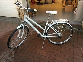 """17"""" Bike, only a few months old. Bargain. Cost £250"""