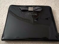 Ted Baker iPad / Tablet Case in Black Patent