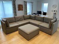 Modular Sofa & Ottoman