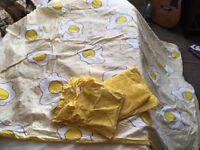 Cute Egg Themed Duvet set for single-bed