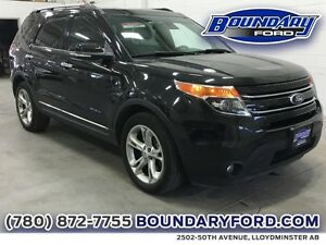 2014 Ford Explorer 4WD 4dr Limited W/ Leather, Sunroof, Cmd Strt