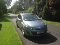 2012 Vauxhall corsa 1.2 sxi (ac) 5Door hatchback,2owners,full service history,new baby forces sale.