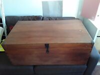 Retro style Chest & Trunk & Storage or Coffee Table