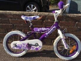 Children's girl bike
