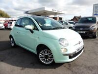 Fiat 500 LOUNGE (green) 2015