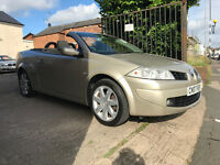 Renault Megane Convertible - 1.6 Privilege - 2007, 1 Owner, 58K Miles!, MOT JULY 2017, 2 Keys, £2195