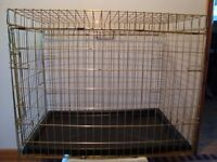 LARGE COLLAPSIBLE PET CAGE / DOG CRATE