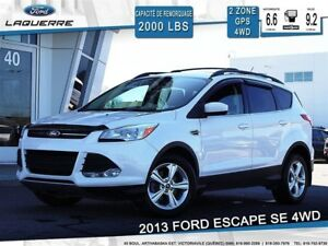 2013 Ford Escape SE**AWD*GPS*BLUETOOTH*A/C**