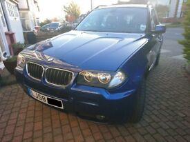 BMW X3 2.0d M Sport, x-drive - Full Main Dealership Service History, Immaculate.