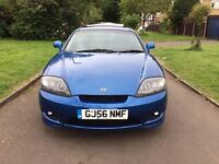 Hyundai Coupe 2.0 SE 3dr, 6 MONTHS FREE WARRANTY, NEW CLUTCH, FULL SERVICE HISTORY
