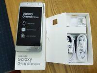 Samsung Galaxy GRAND PRIME PLUS 8GB SILVER Dual Sim Unlocked smartphone
