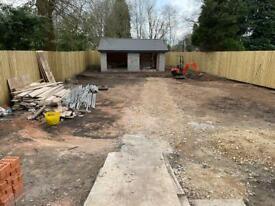 Builder & digger hire