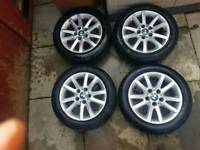 BMW alloys and tyres 205/55/16