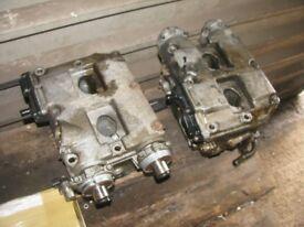 Impreza WRX Bugeye Cylinder Heads Pair Complete