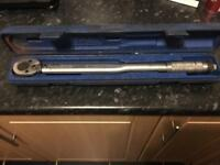 Draper torque wrench tool