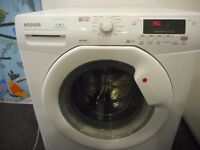 "HOOVER""VISION DYNAMIC""LARGE CAPACITY 8KG/1600 WASHER DRYER"