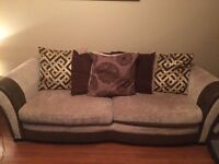 Large Sofa & 2 seater for sale