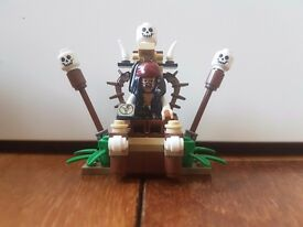 Lego Pirates of the Caribbean Cannibal Escape