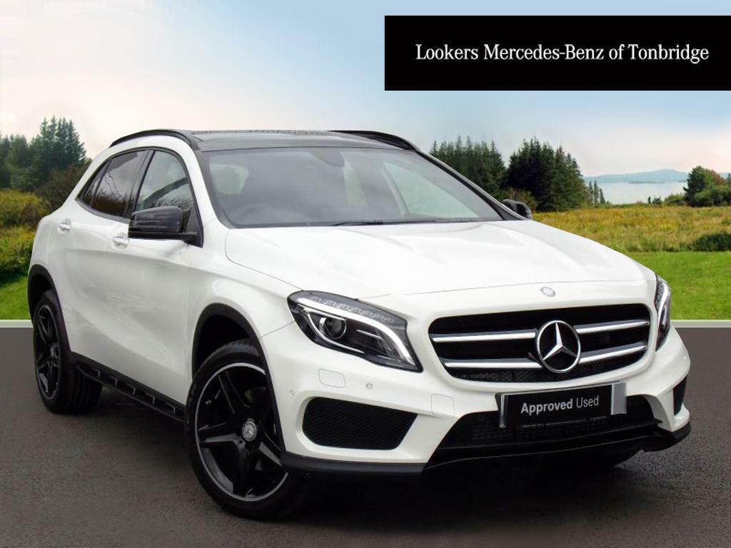mercedes benz gla class gla 220 d 4matic amg line premium plus white 2017 03 16 in tonbridge. Black Bedroom Furniture Sets. Home Design Ideas