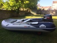 Honwave T4 AE2 Inflatabe boat with rigid floor