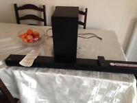 LG sound bar.