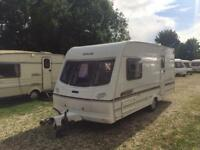 2 BERTH LIGHTWEIGHT 2002 LUNAR CLUBMAN WITH END BATHROOM AND WE CAN DELIVER PLZ VIEW